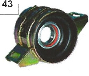 Ford Transit Centre Bearing old. OE REF 88VB4826AA Propshaft Centre Bearing