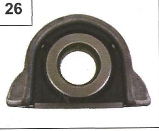 IVECO OE REF 93194978 - SLOTTED RUBBER